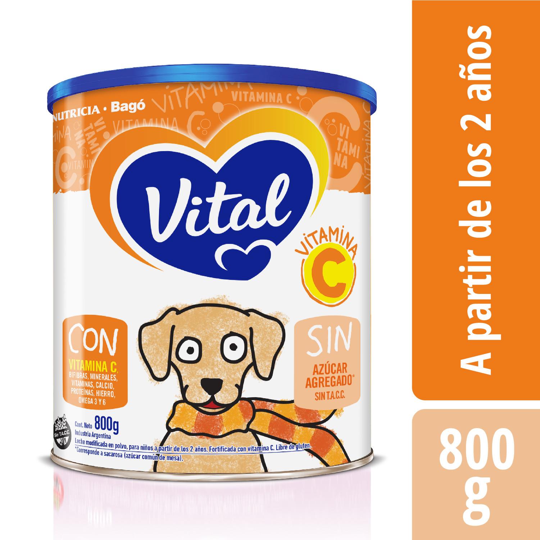 Vital Vitamina C  - Lata 800 g