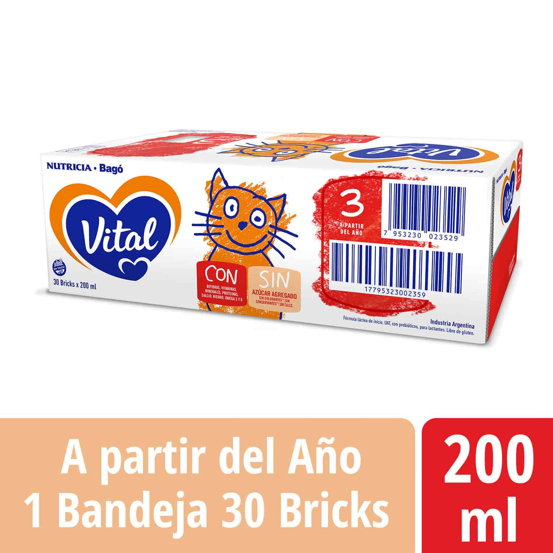 Vital 3 - Brick 200 ml