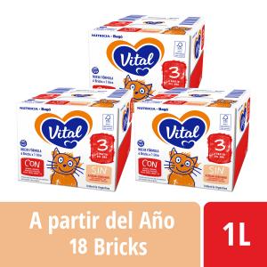 Pack Vital 3 - Brick 1 L