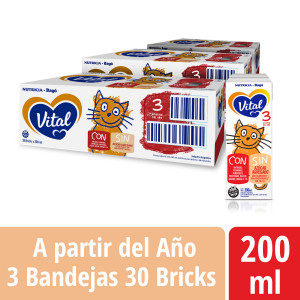 Pack Vital 3 - Brick 200 ml