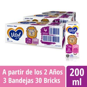 Pack Vital 4 - Brick 200 ml