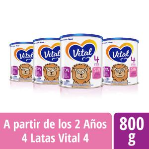 Pack Vital 4 - Lata 800 g