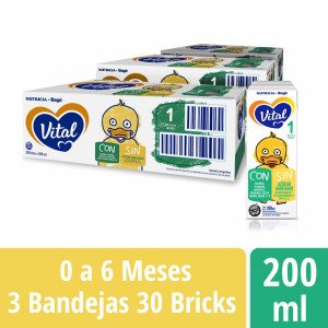 Pack Vital 1 - Brick 200 ml