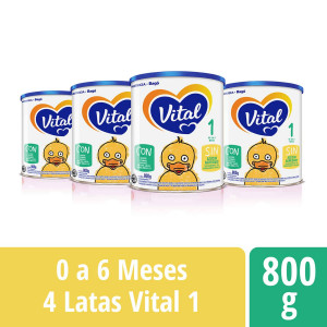 Pack Vital 1 - Lata 800 g