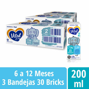 Pack Vital 2 - Brick 200 ml