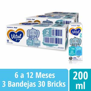 Pack Vital 2 - Brick 200 ml